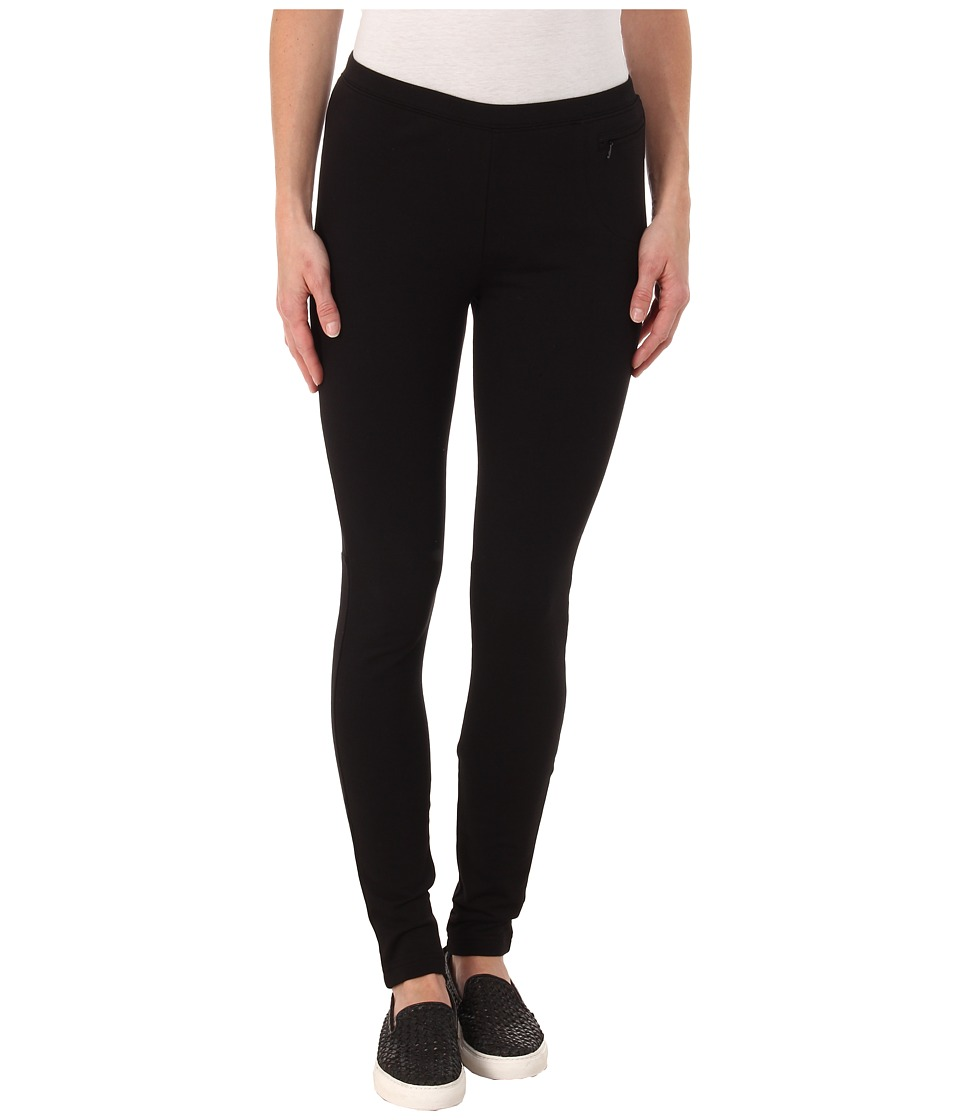 Hatley - Structured Leggings (Black) Women's Casual Pants