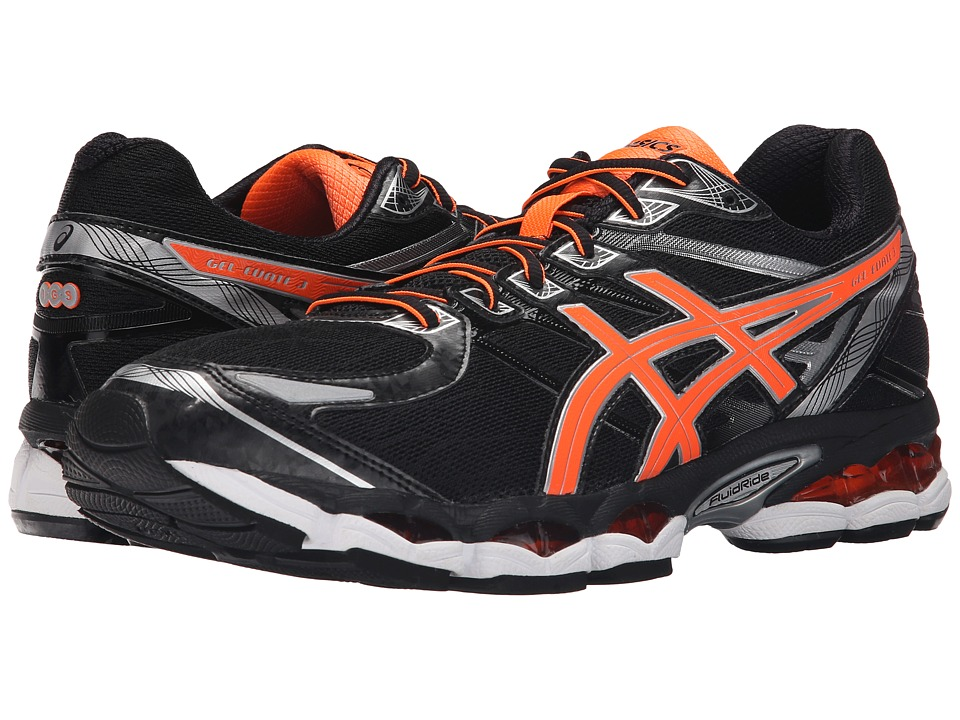 ASICS Gel-Evatetm 3 (Black/Hot Orange/Silver) Men's Running Shoes