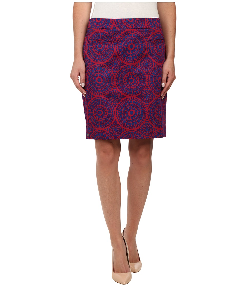 Hatley - Sateen Skirt (Berry Mosaic) Women's Skirt