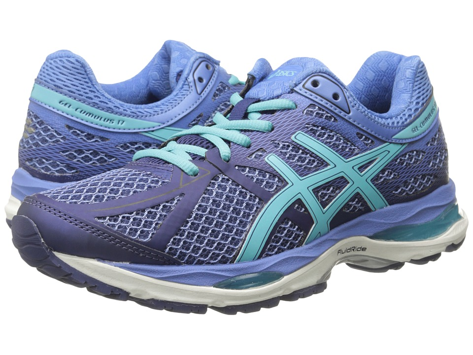 ASICS - Gel-Cumulus 17 (Deep Cobalt/Turquoise) Women's Running Shoes