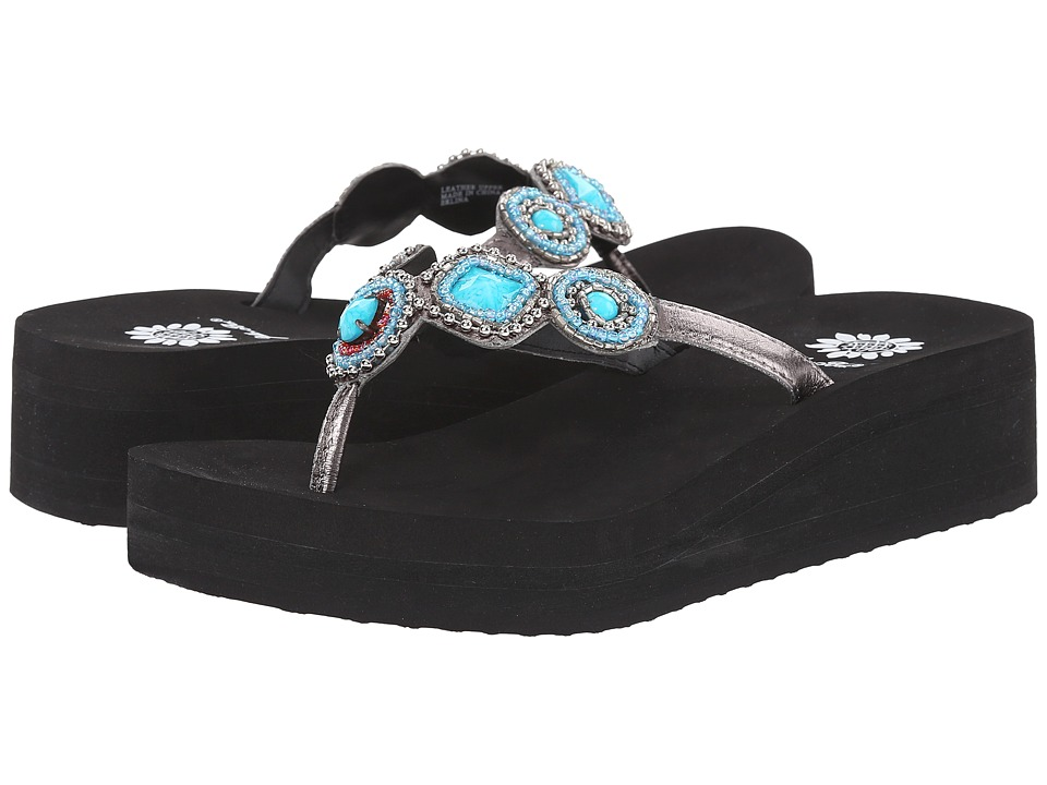 Yellow Box - Erlina (Turquoise) Women's Sandals