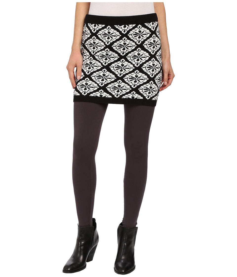Hatley - Sweater Skirt (Black Medallion) Women's Skirt