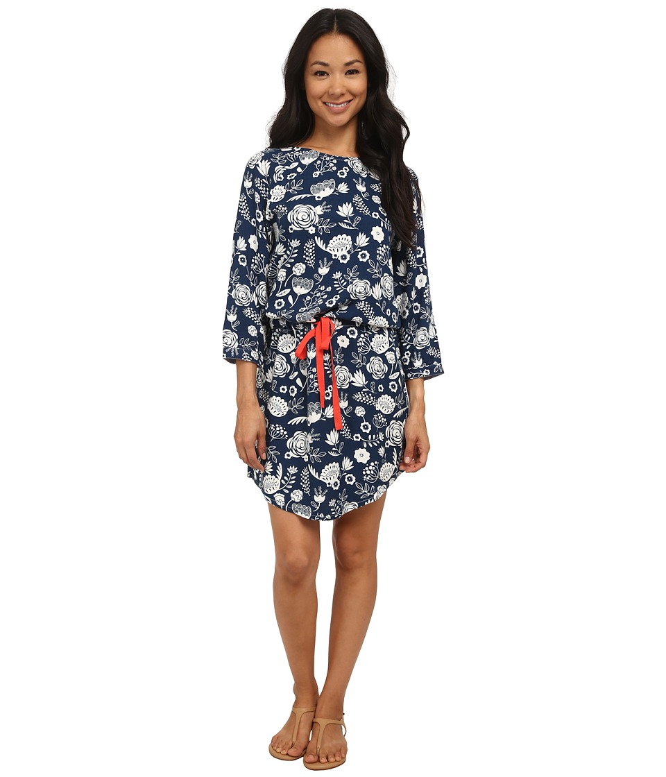 Hatley - Dropped Waist Dress (Blue Field Flowers) Women's Dress