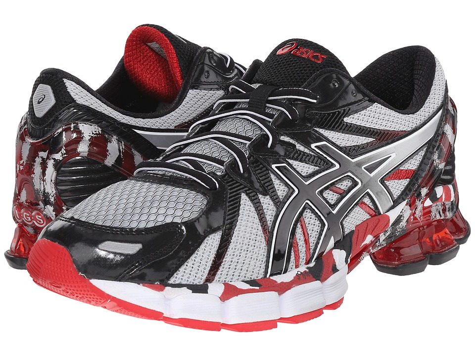ASICS - Gel-Sendai 3 (Black/Onyx/Red) Men's Running Shoes