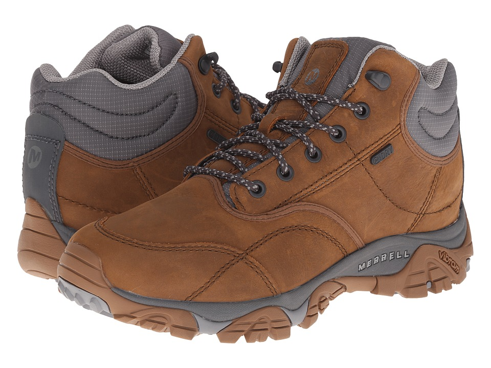 Merrell - Moab Rover Mid Waterproof (Merrell Tan) Men's Waterproof Boots