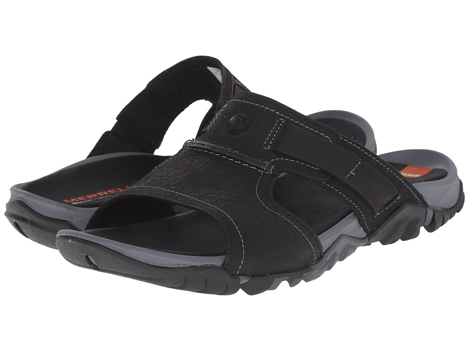 Merrell - Telluride Slide (Black) Men's Shoes