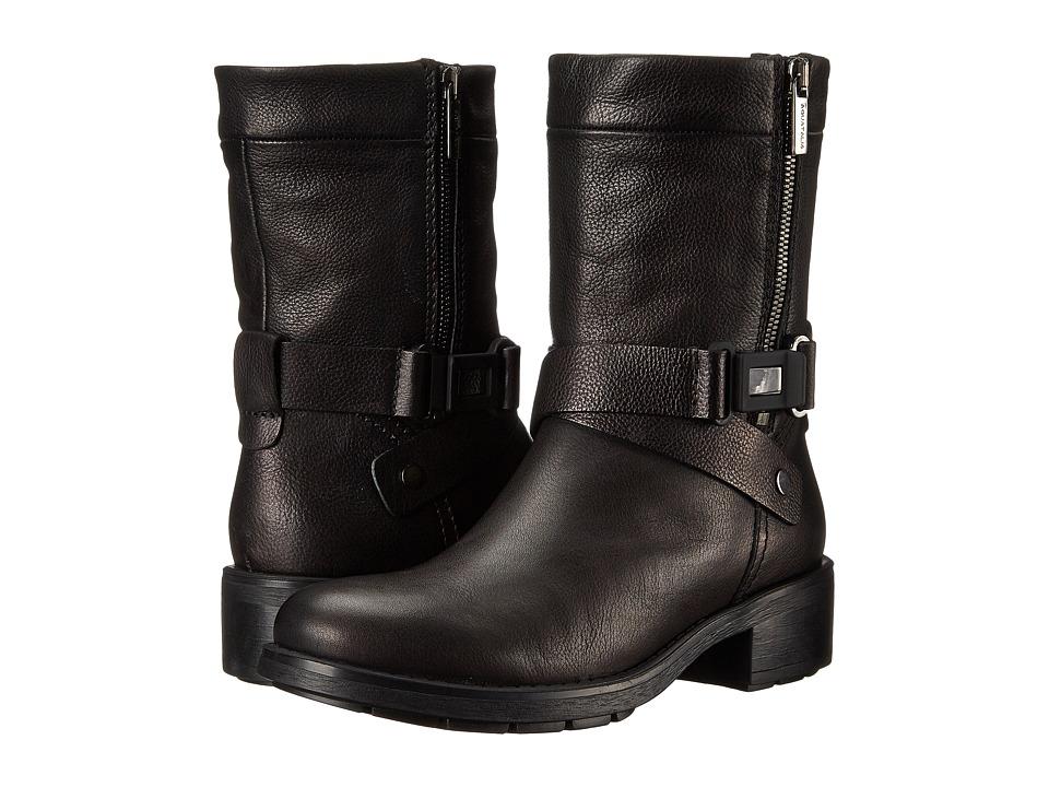 Aquatalia - Sami (Black Rustico Calf) Women's Boots