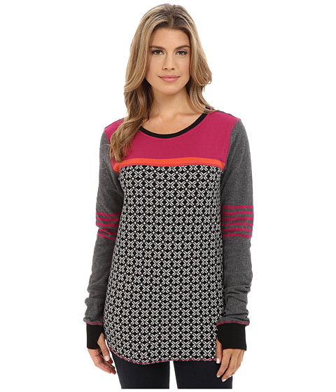 Hatley - Reversible Top (Black Snowflakes) Women's Clothing