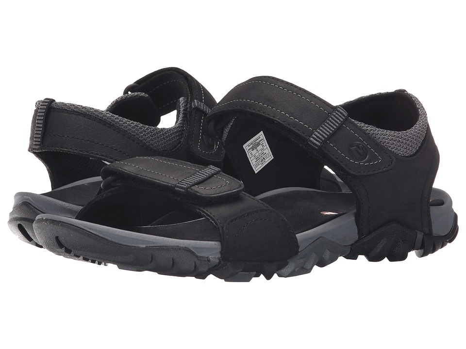 Merrell - Telluride Strap (Black) Men's Shoes