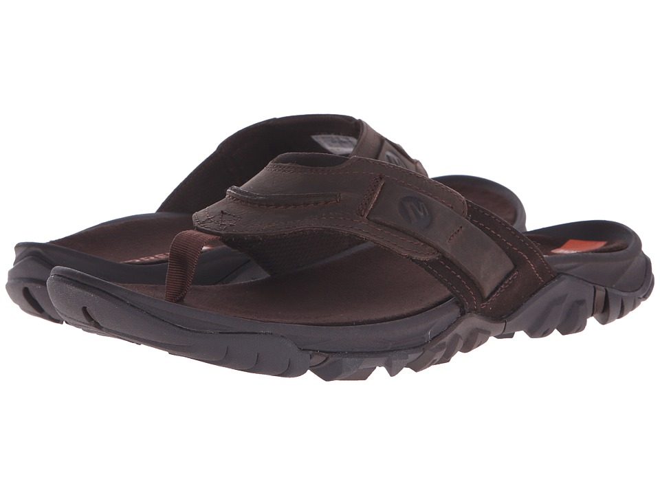 Merrell - Telluride Thong (Clay) Men's Shoes