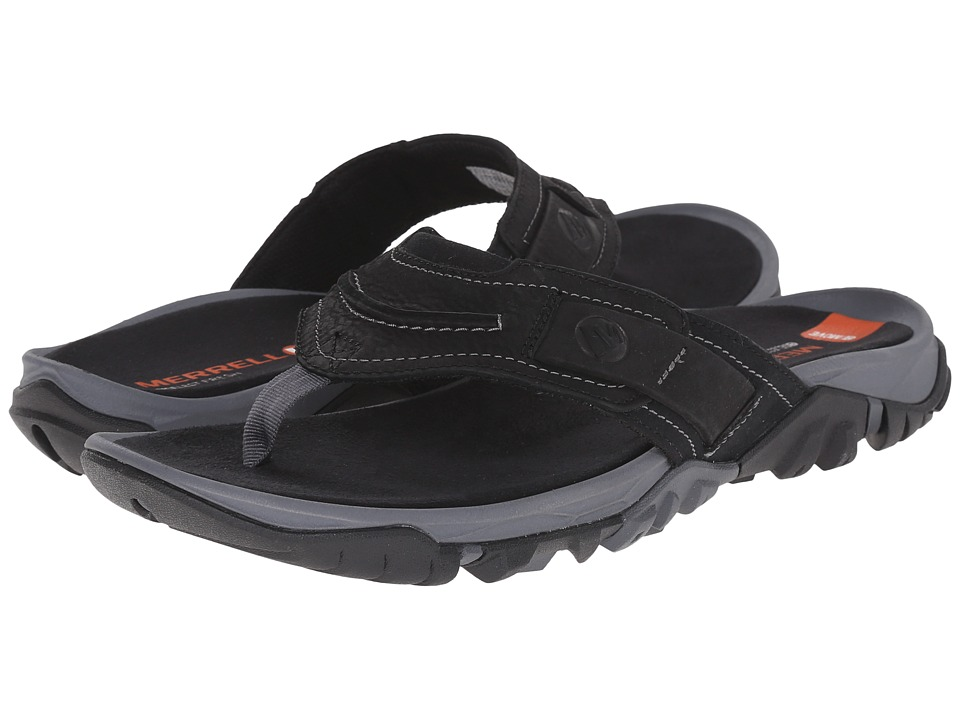 Merrell - Telluride Thong (Black) Men