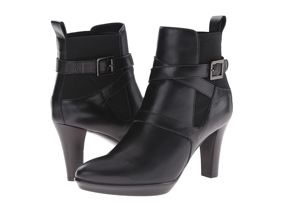 Aquatalia - Rama (Black Calf/Elastic) High Heels
