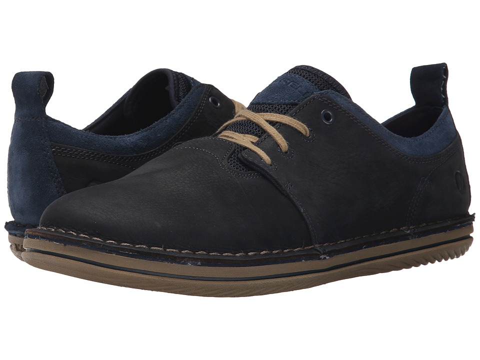 Merrell - Bask Sol (Navy) Men's Lace up casual Shoes