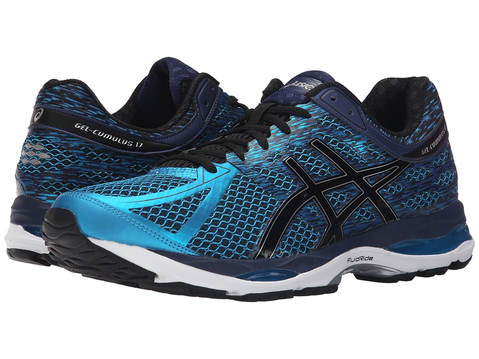 ASICS - Gel-Cumulus 17 (Island Blue/Black/Indigo Blue) Men's Running Shoes
