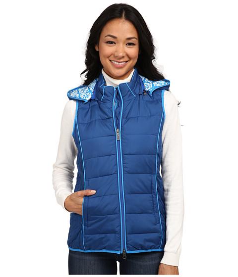 Hatley - Outerwear Vest (Blue Medallion) Women's Vest