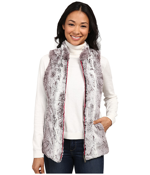 Hatley - Faux Fur Vest (Graphic Snowflakes) Women