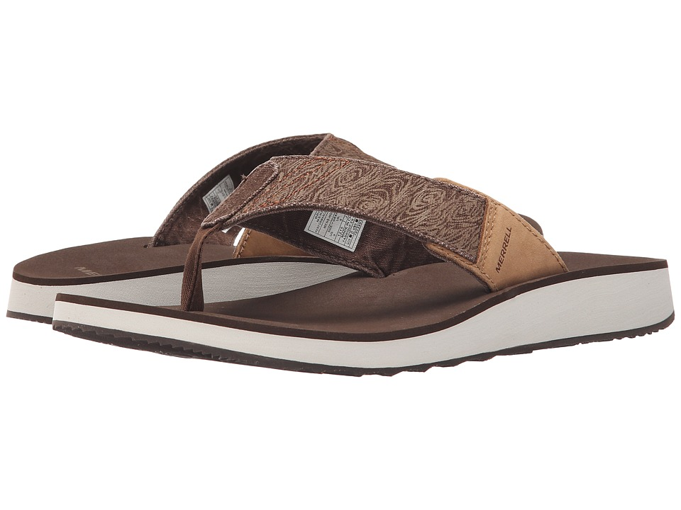 Merrell - Duskair Flip (Leather Brown) Men's Shoes