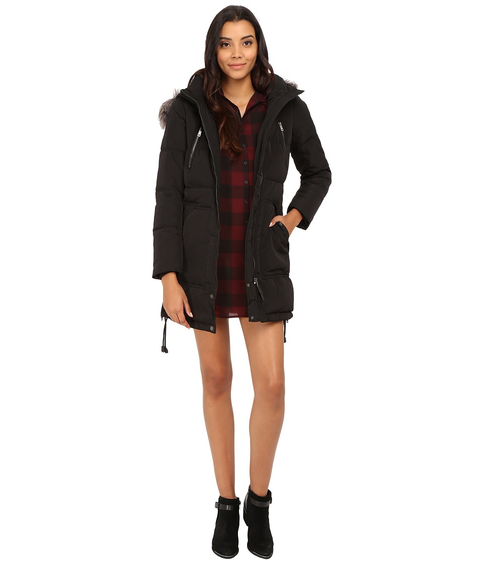 ONLY - Lana Down Coat (Black) Women's Coat