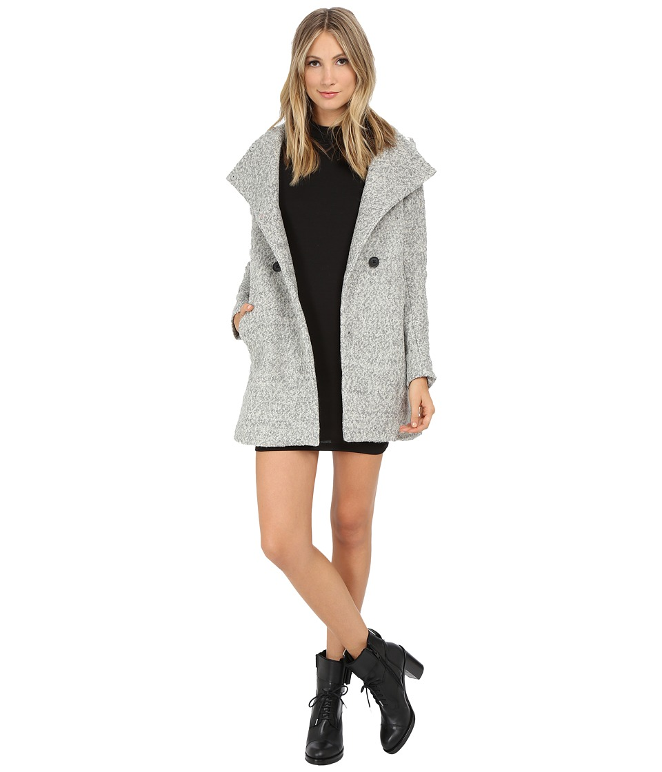 ONLY - Sophia Wool Coat (Light Grey Melange) Women