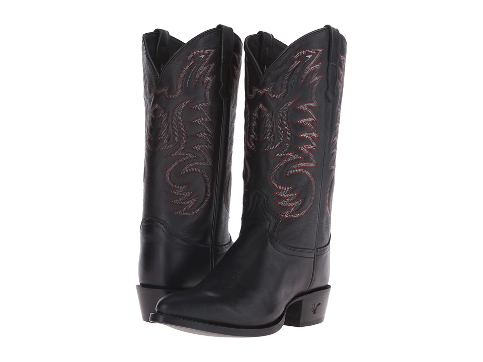 Old West Boots - 60051 (Black) Cowboy Boots