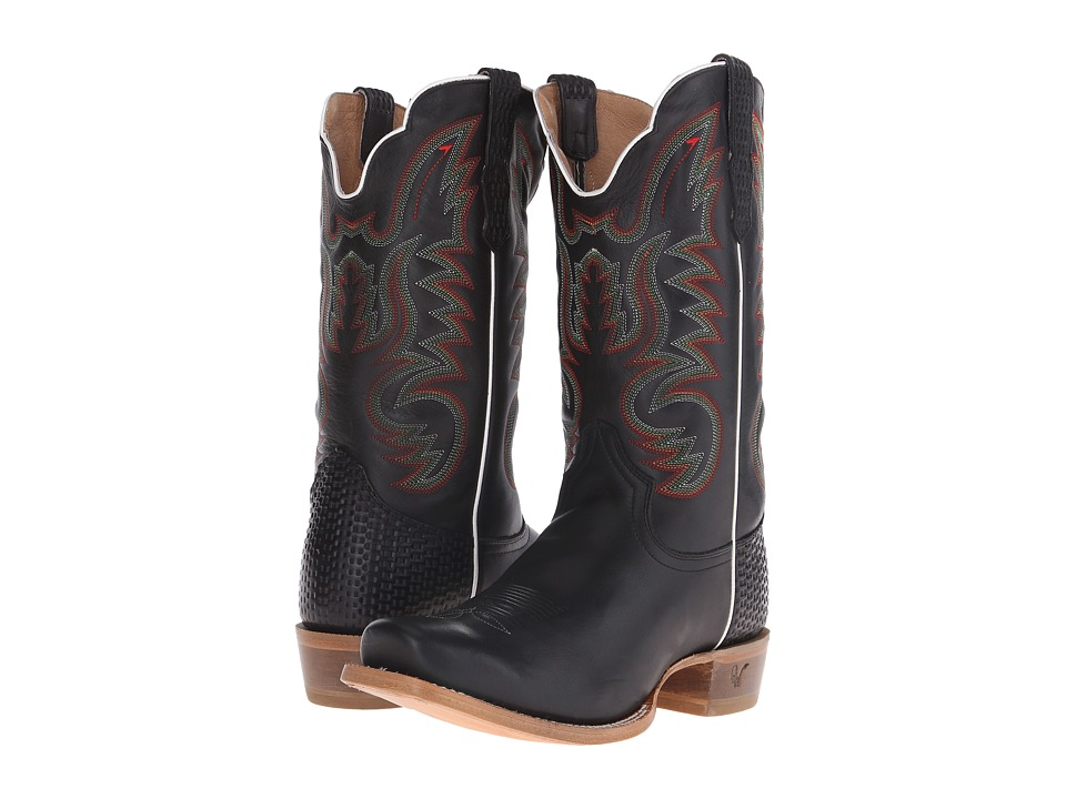 Old West Boots - 60005 (Adrian Black) Cowboy Boots