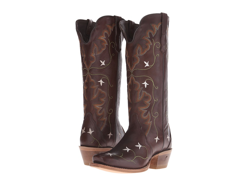 Old West Boots - 70110 (Chocolate Liga) Cowboy Boots