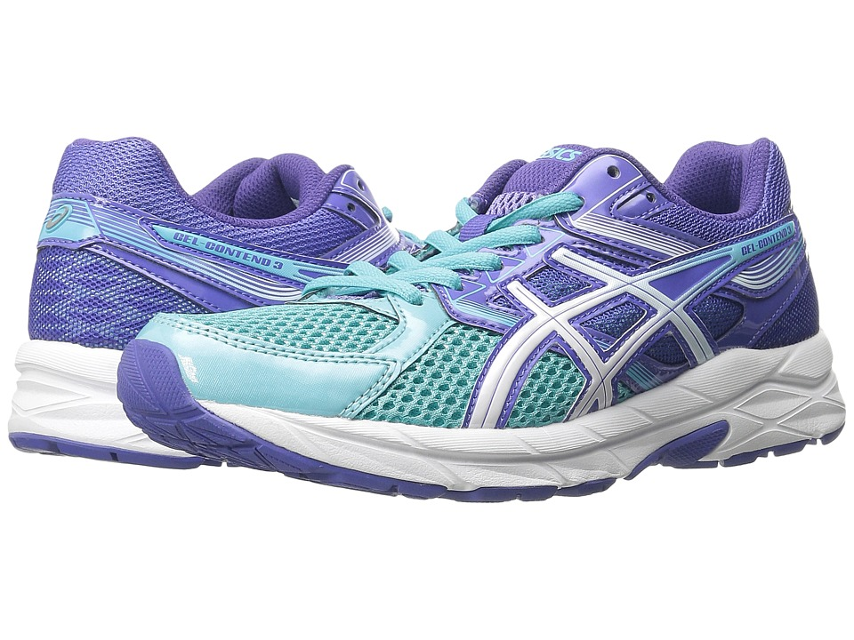 ASICS - GEL-Contend 3 (Turquoise/White/Acai) Women's Running Shoes
