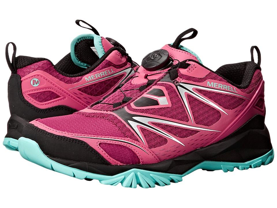 Merrell - Capra Bolt Boa (Bright Red) Women's Shoes