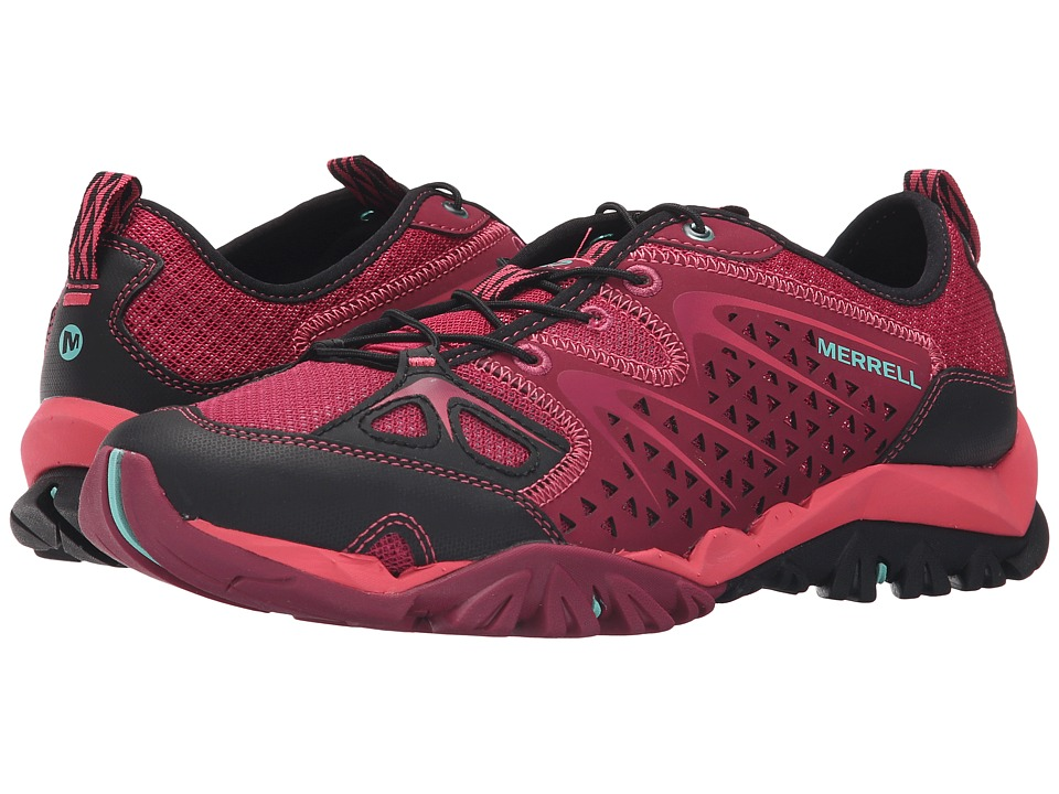 Merrell - Capra Rapid (Bright Red) Women's Shoes