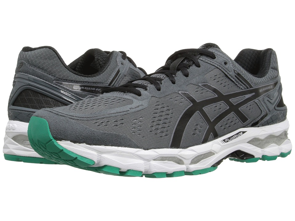 ASICS - GEL-Kayano 22 (Carbon/Black/Silver) Men's Running Shoes