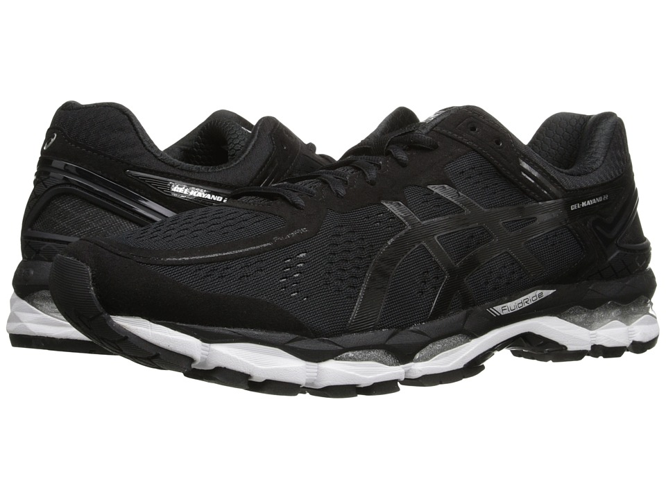 ASICS - GEL-Kayano 22 (Black/Onyx/Silver) Men's Running Shoes