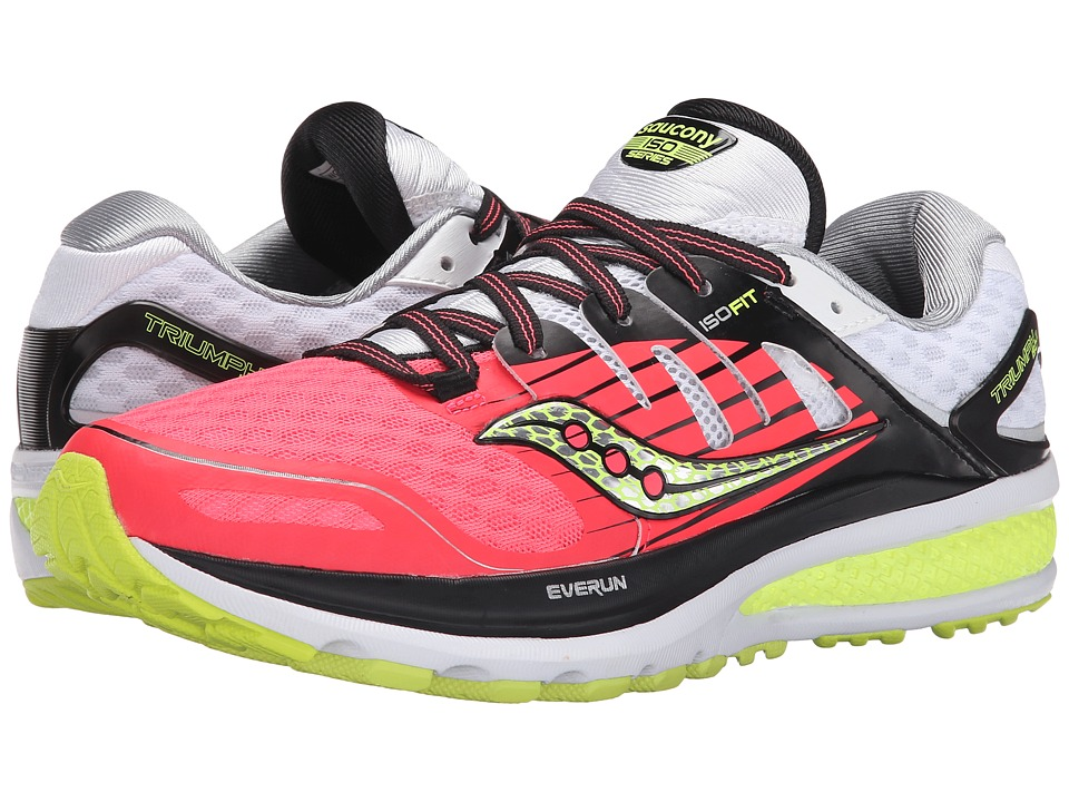 Saucony - Triumph ISO 2 (Coral/Silver) Women's Shoes