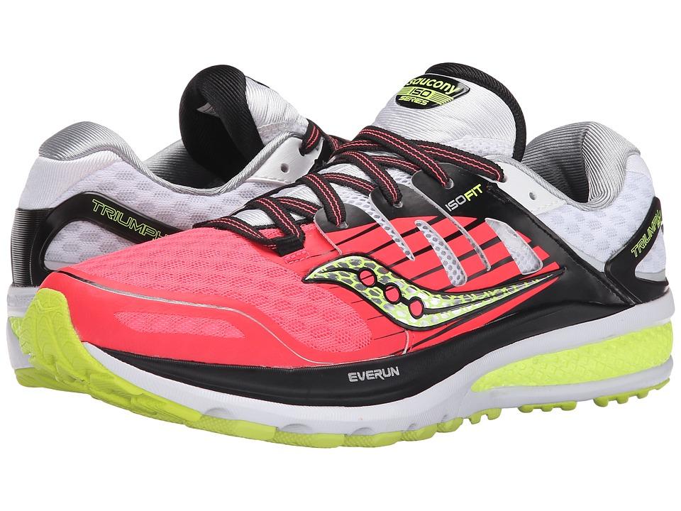 Saucony - Triumph ISO 2 (Coral/Silver) Women's Shoes
