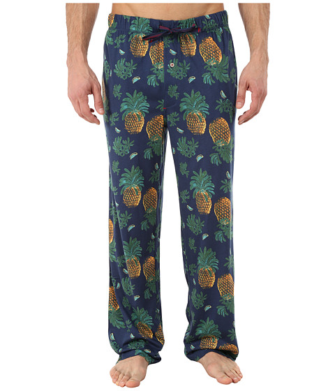 Tommy Bahama - Fruit for Thought Knit Pants (Navy Combo) Men