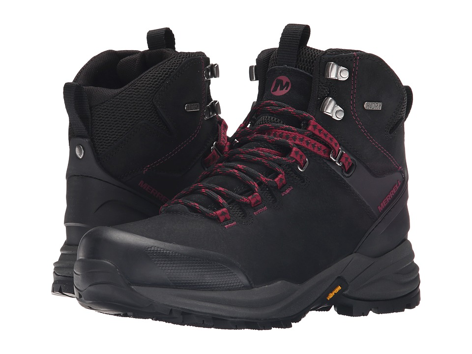 Merrell - Phaserbound Waterproof (Black) Women's Shoes