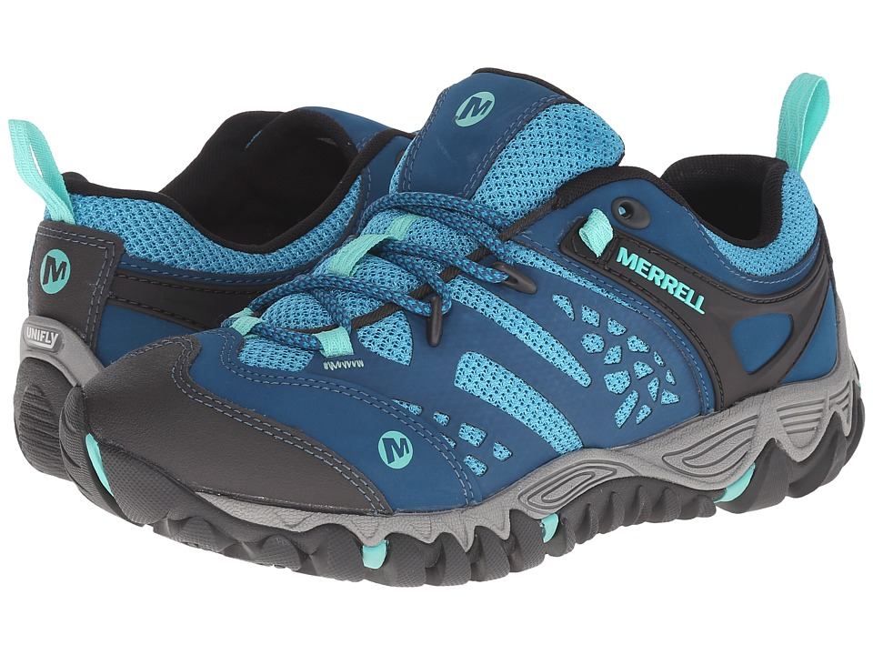 Merrell - All Out Blaze Vent (Turquoise/Aqua) Women's Shoes