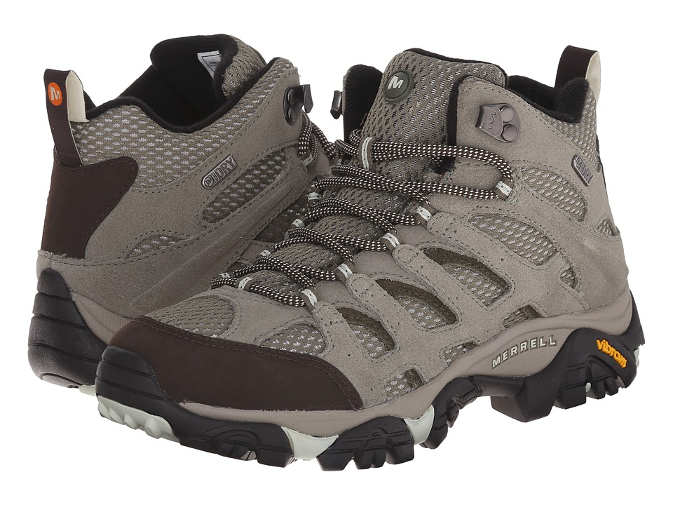 Merrell - Moab Mid Waterproof (Granite) Women's Hiking Boots