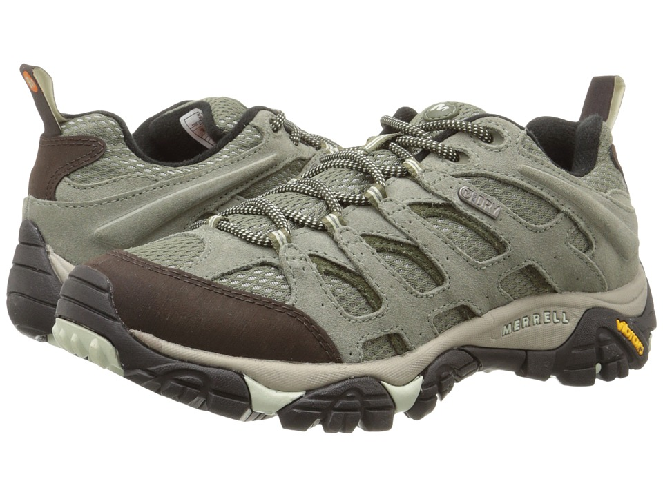 Merrell - Moab Waterproof (Granite) Women's Lace up casual Shoes