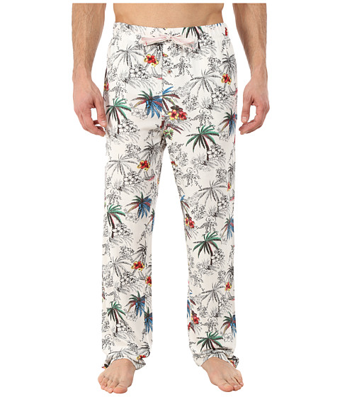 Tommy Bahama - Nice Catch Knit Pants (Coconut Cream) Men's Pajama