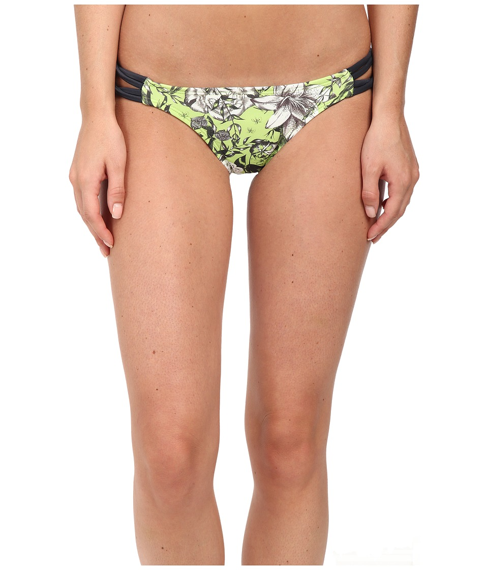 Vix - Sofia by Vix Rio Detail Full Bottoms (Jardin Green) Women's Swimwear
