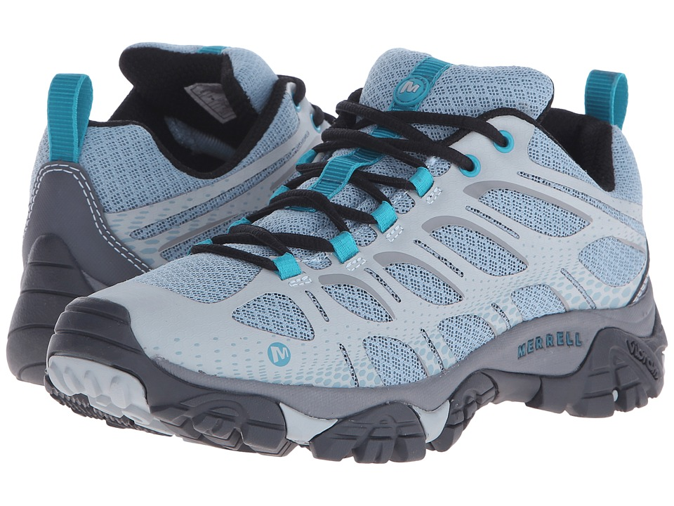 Merrell - Moab Edge (Light Blue) Women's Shoes