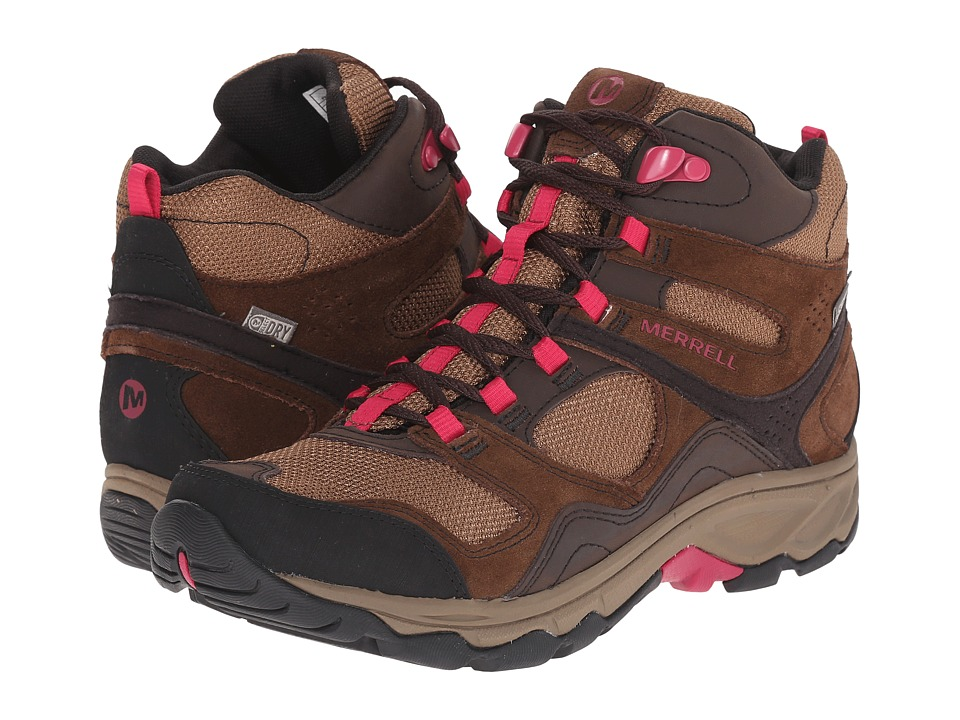 Merrell - Kimsey Mid Waterproof (Dark Brown) Women's Shoes
