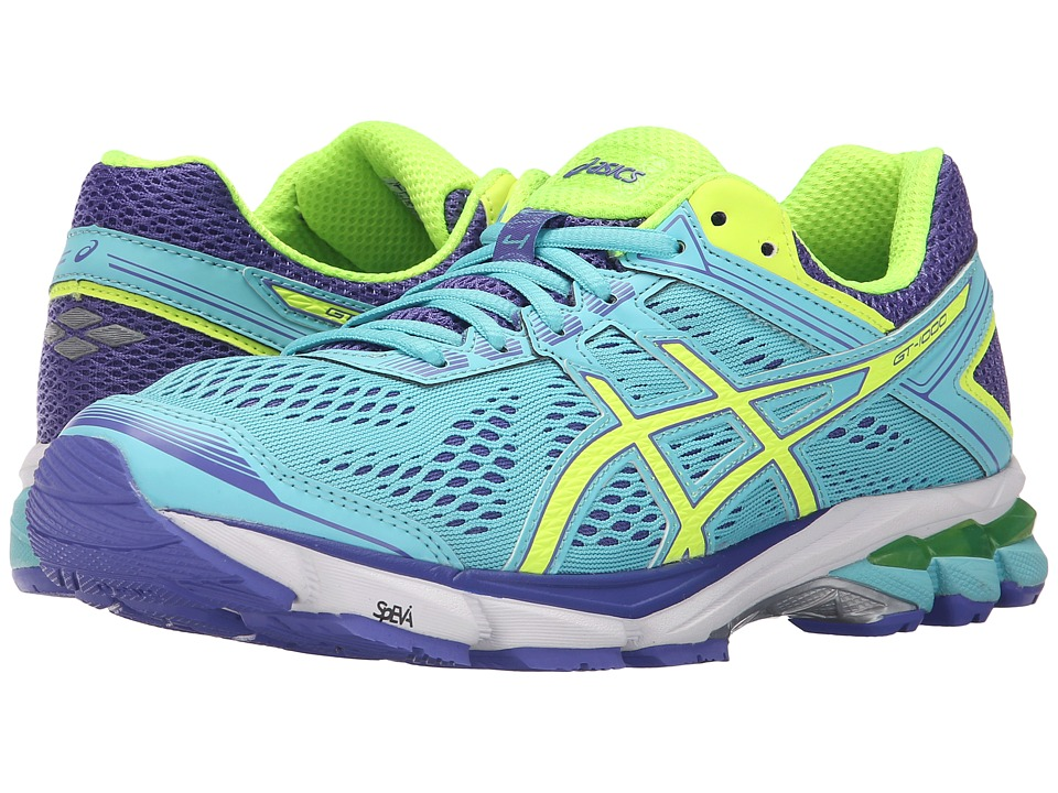 ASICS - GT-1000 4 (Turquoise/Flash Yellow/Acai) Women's Running Shoes