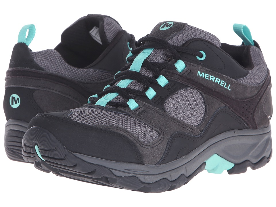 Merrell - Kimsey (Black/Green) Women's Shoes