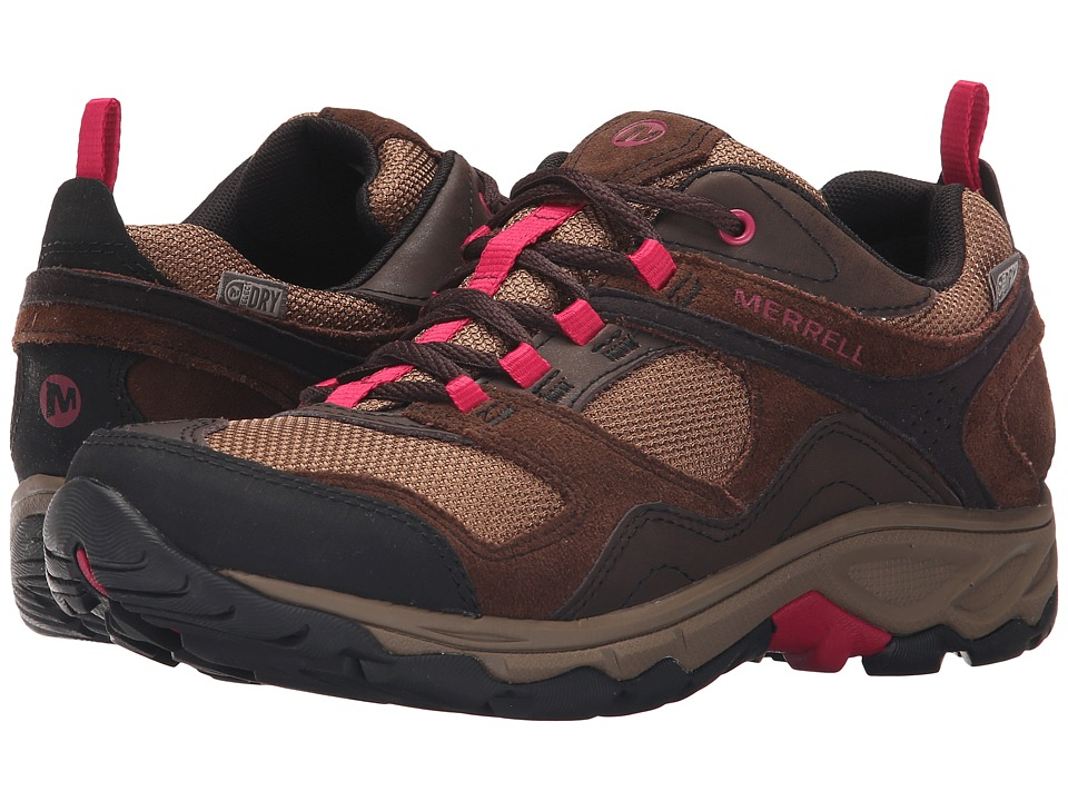 Merrell - Kimsey Waterproof (Dark Brown) Women's Shoes