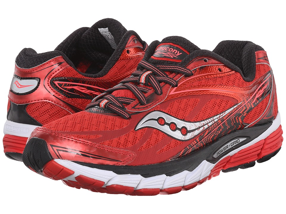 Saucony - Ride 8 (Red/Black) Women's Running Shoes