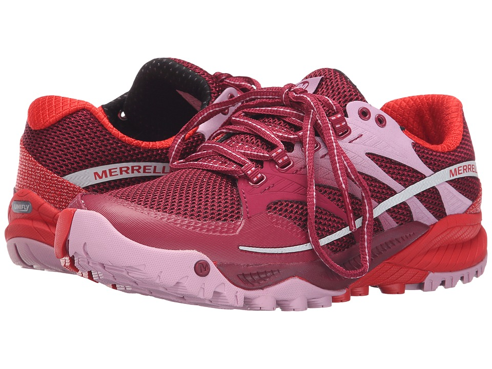 Merrell - All Out Charge (Bright Red) Women's Shoes