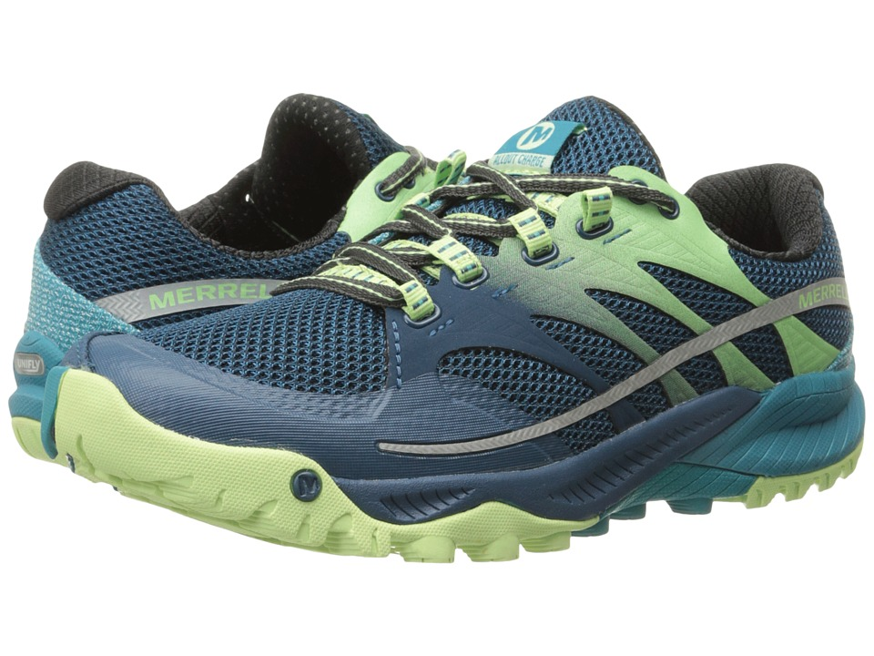 Merrell - All Out Charge (Blue) Women's Shoes