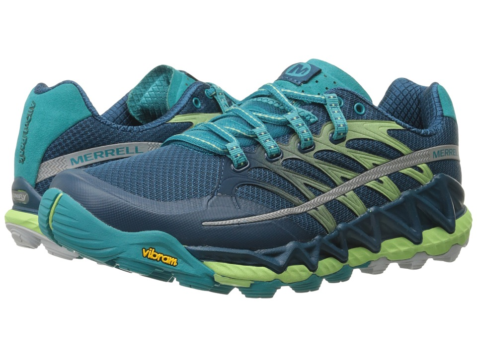 Merrell - All Out Peak (Light Green) Women's Shoes