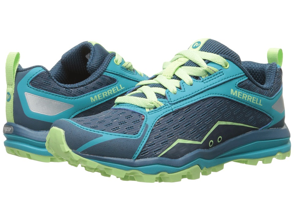 Merrell - All Out Crush (Bright Green) Women's Shoes